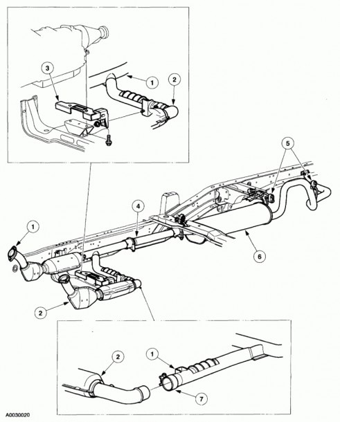 2000 Ford F 150 Engine Diagram Together With Ford F 150 Exhaust
