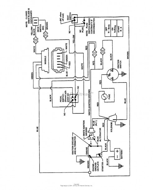 sears 26 horse kohler engine electrical diagram