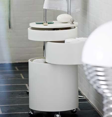 Badezimmerdesign Möbel und Accessoires - milanari - badezimmer rollcontainer
