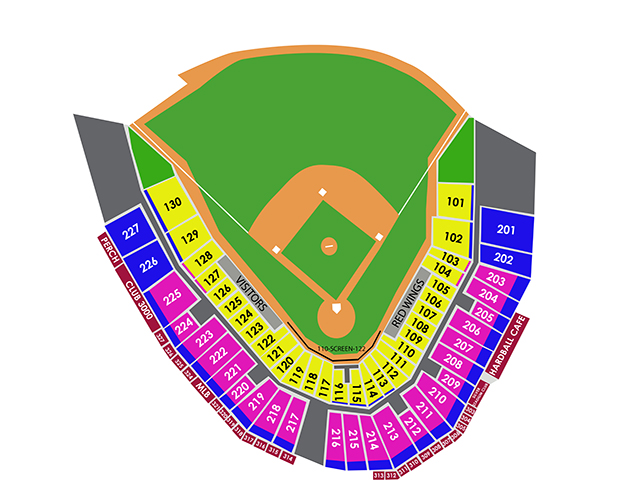 Frontier Field Seating Diagram - DIY Enthusiasts Wiring Diagrams \u2022