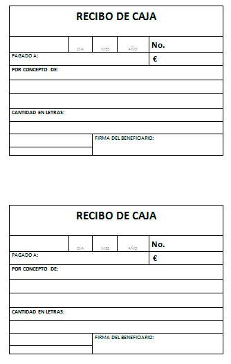 Modelo de recibo de cajas Modelo Plantilla - boletos de rifas para imprimir gratis