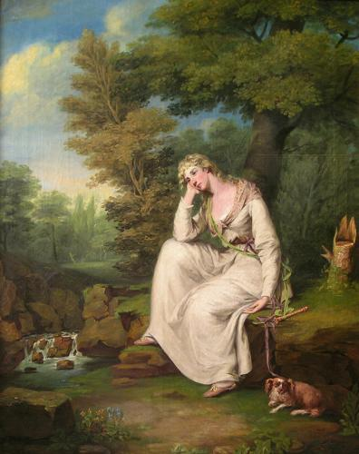 Maria from Laurence Sterne's 'A Sentimental Journey'