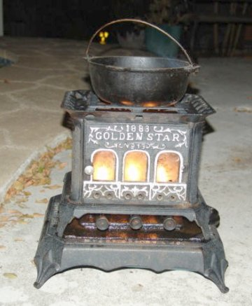 Quotsad Ironquot Stoves From The 19th Century