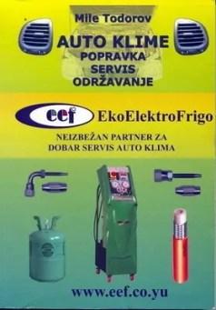 """slika knjige """"Auto klime - popravka, servis, održavanje"""""""