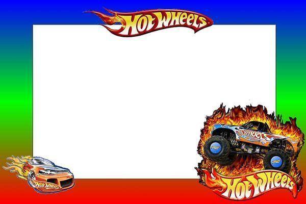 Tarjetas De Cumpleanos De Hot Wheels Para Imprimir