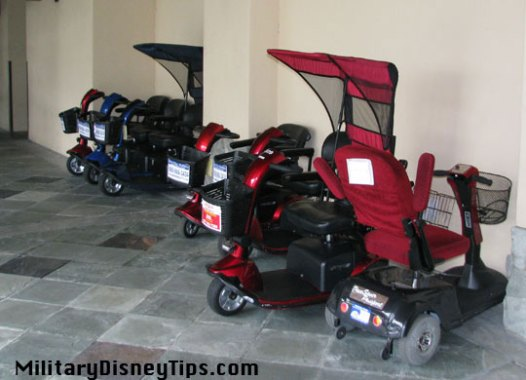 scooter rentals at shades of green