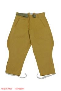 WWII German DAK/Tropical Afrikakorps officer sand breeches ...