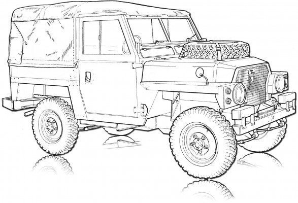lightweight land rover wiring diagram pre fog the military