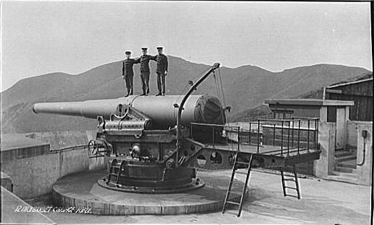 Historic California Forts Fort Baker Battery Spencer