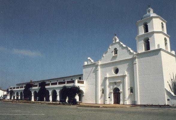 Historic California Posts Posts at Mission San Luis Rey de Francia