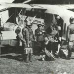 imbarco di soldati sul Breda Ba.44 I-ARIA, n.c. 4301.
