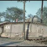 An unidentified tank. This picture was taken sometime during the German Western European campaign. Unsure if it is 1940 or 1939.