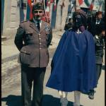 Ethiopian representative  in St. Marinella during Hitler's state visit.. Marinella during Hitler's state visit