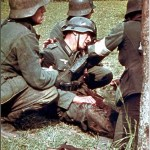 nazi-germany-second-world-war-ww2-color-clour-pictures-images-photos-german-soldier-injured-russia-1942