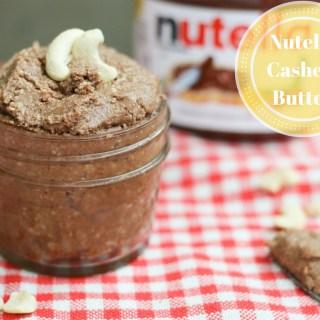 Nutella Cashew Butter | Pretty Polymath