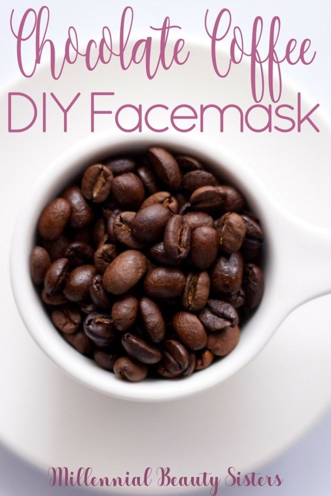 Chocolate Coffee Coconut Oil DIY Facemask millennialbeautysisters.com