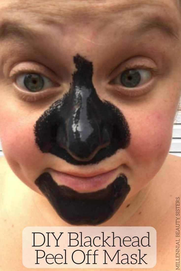 This is an easy DIY Blackhead Peel Off Mask. Great for cleansing pores and removing