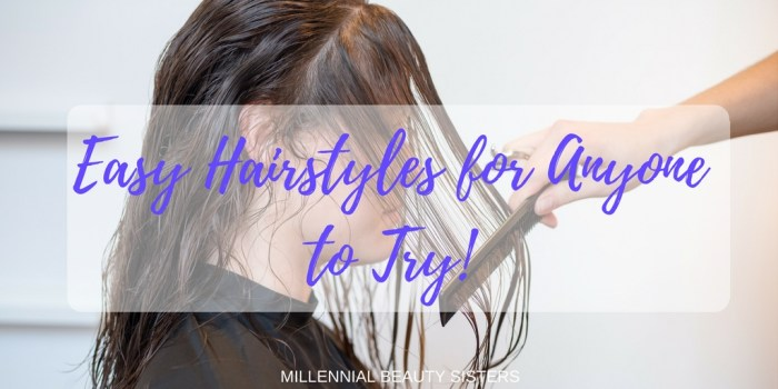 Taming your mane doesn't have to be difficult. Try out these easy hairstyles like me, when you're trying to get wedding ready in just a few minutes!