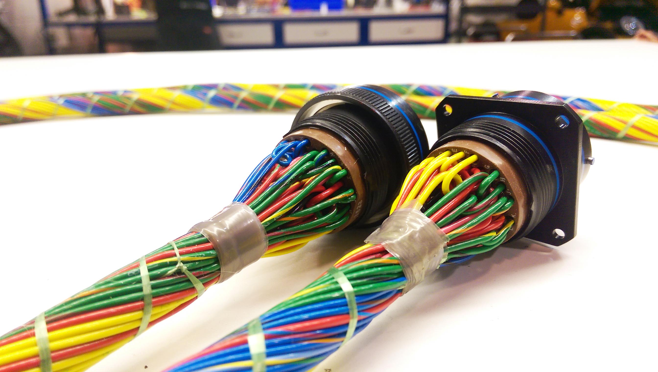 mil spec wire harness
