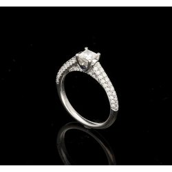 Small Of Vera Wang Engagement Ring