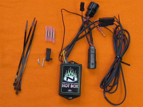 2009-13 Screamin Eagle 4 Wire Wiring Harness Kit NMB-04-WHSE