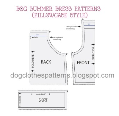 Free Large Dog Clothes Sewing Patterns