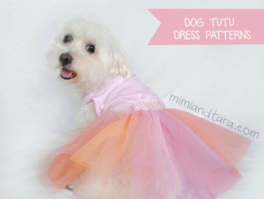 Dog dress tutu