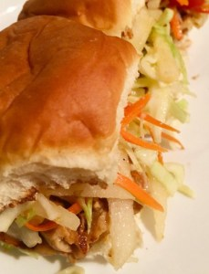 The Asian Grilled Pork Slider