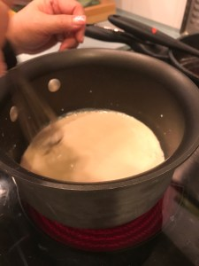 Cooking the roux