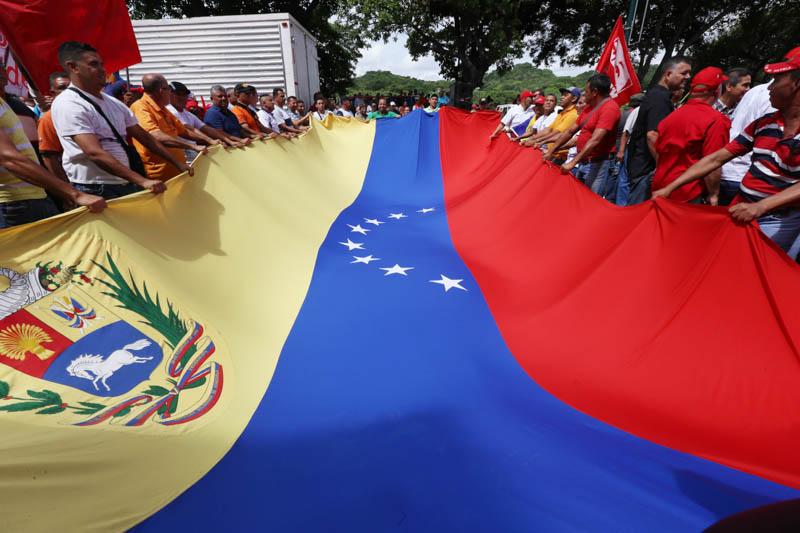 Presidente Maduro recibe en el Palacio de Miraflores a la Fuerza Motorizada de la Patria