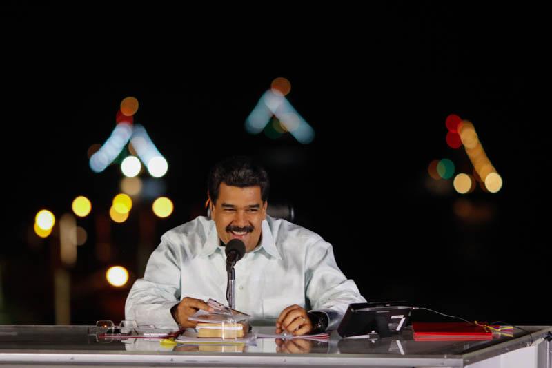 Contacto con Maduro  desde Nueva Esparta