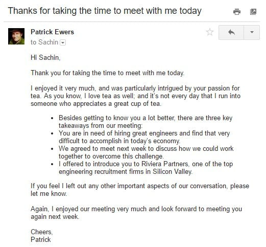 How to Write a Great Follow-Up Email After a Meeting - Mindmaven - best of sample invitation kick off meeting