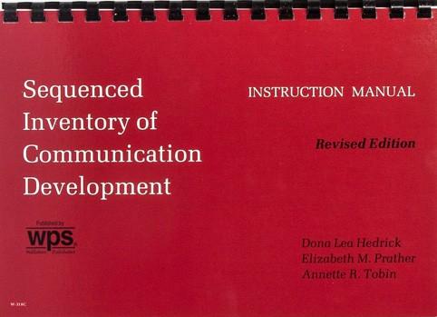 SICD-R INSTRUCTIONAL MANUAL