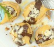 chocolade meringue taartjes