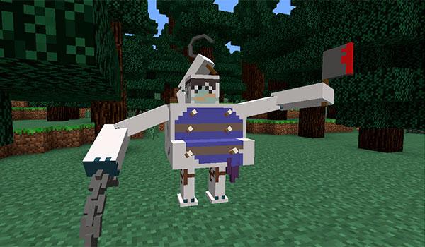 imagen donde vemos a una de las nuevas criaturas que añade el mod world of warcraft 1.7.10.
