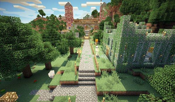 Mansion Adventure Map for Minecraft 1.8