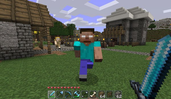 Herobrine Mod for Minecraft 1.7.2 and 1.6.4