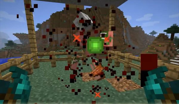 Mob Dismemberment Mod for Minecraft 1.7.2 and 1.7.10