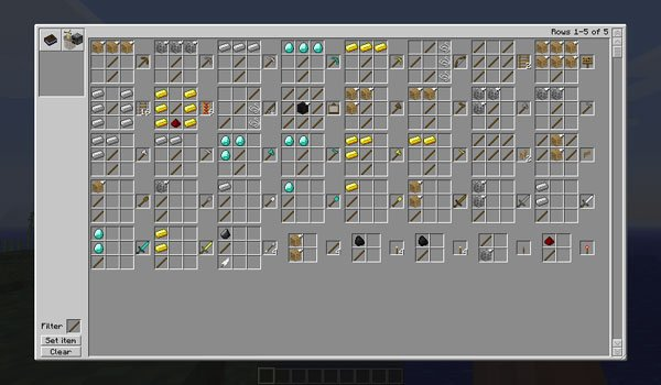 Recipe Book Mod for Minecraft 1.6.2 and 1.5.2