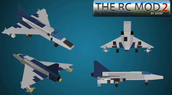The RC Mod for Minecraft 1.7.2 and 1.7.10