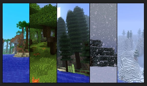 Biomes O' Plenty Mod for Minecraft 1.7.10 and 1.7.2