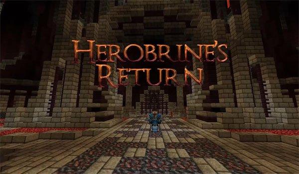 Herobrine's Return Map for Minecraft 1.6.2