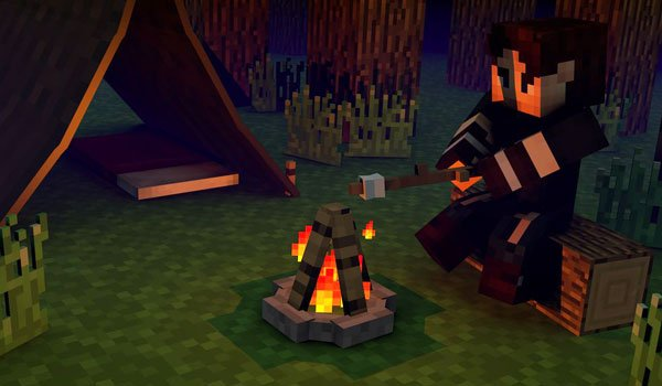 The Camping Mod for Minecraft 1.7.10