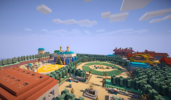 Pokemon Johto in Minecraft Map for Minecraft 1.6.2