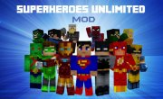 Superheroes Unlimited Mod for Minecraft 1.7.10 and 1.6.4