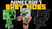 Baby Mobs Mod for Minecraft 1.11.2/1.10.2/1.9.4 | MinecraftOre