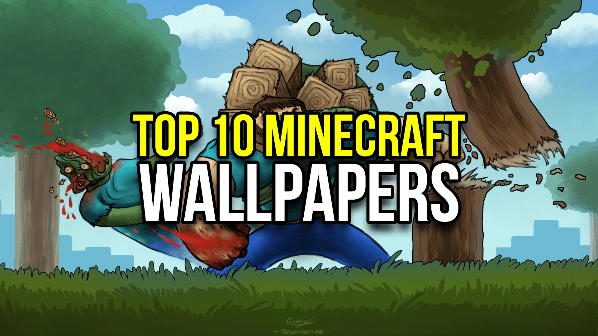 Cute 3d Cartoon Wallpapers Top 10 Minecraft Wallpapers Minecraftrocket