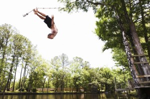 Rope Swinging