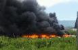 [GALLERY] CAIVANO: Brucia di nuovo il campo rom, rifiuti speciali e carcasse di elettrodomestici smaltiti illecitamente