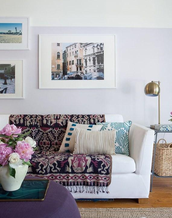 sofa-com-manta-neutrajpg (570×723) xales Pinterest Tv living